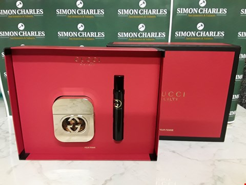 Lot 12023 GUCCI STYLE GUILTY 2PC BOXED SET FOR HER