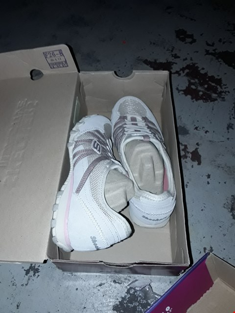 Lot 2021 PAIR OF BRAND NEW SKECHERS ROSEY GIRL PURPLE TRAINERS SIZE 5 , HOT - TICKET SIZE 3 NATURAL TAUPE AND COLE BLACK SIZE 3 TRAINERS  RRP £60