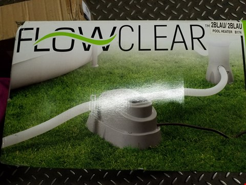 Lot 3528 BESTWAY FLOWCLEAR POOL HEATER RRP £119.99