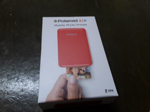 Lot 4 BOXED GRADE 1 POLAROID MOBILE PHOTO PRINTER  RRP £174