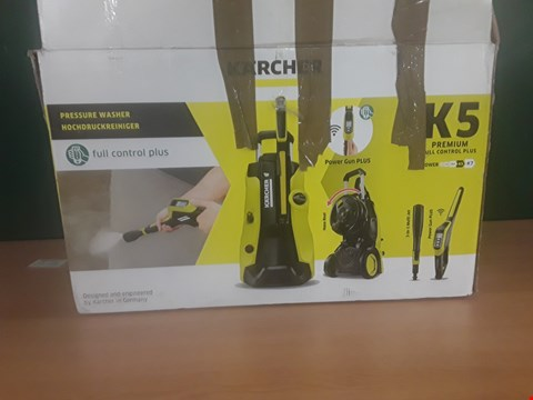 Lot 91 BOXED KARCHER K5 PREMIUM PRESSURE WASHER  RRP £320
