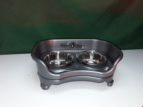 Lot 315 NEATER FEEDER EXPRESS DOG FOOD AND WATER BOWLS SMALL DOG