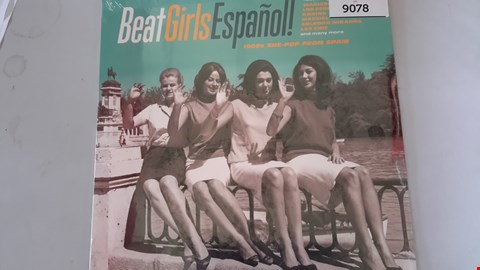 Lot 9078 BEAT GIRLS ESPAÑOL VINYL RECORD