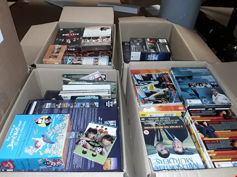 Lot 4094 JOB LOT OF ASSORTED DVD BOXSETS AND GAMES TO INCLUDE SCREAM, THE OFFICE, AUSTIN POWERS