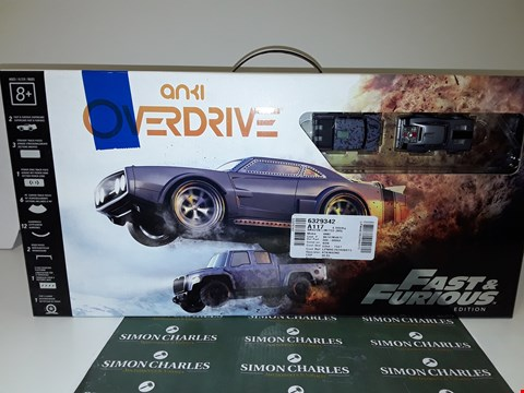 Lot 6358 ANKI OVERDRIVE FAST AND FURIOUS EDITION
