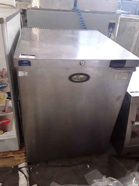 Lot 52 FOSTER STAINLESS STEEL UNDER COUNTER REFRIGERATOR
