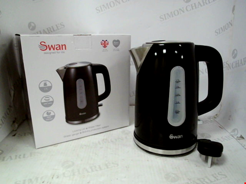 Lot 10059 SWAN KETTLE AND 4 SLICE TOASTER PACK RRP £69.99