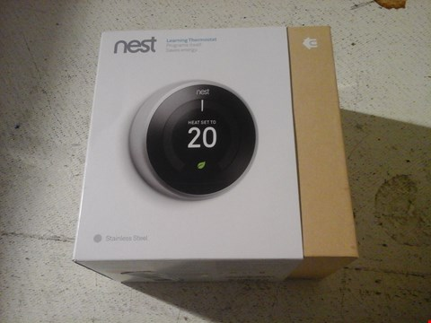 Lot 16 NEST LEARNING THERMOSTAT
