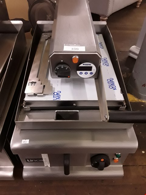 Lot 100 LINCAT 400MM SINGLE ELECTRIC CLAM GRILL Model OE7211 RRP £5029