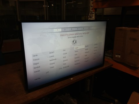 "Lot 91 LUXOR 40"" SMART FULL HD LED TELEVISION"