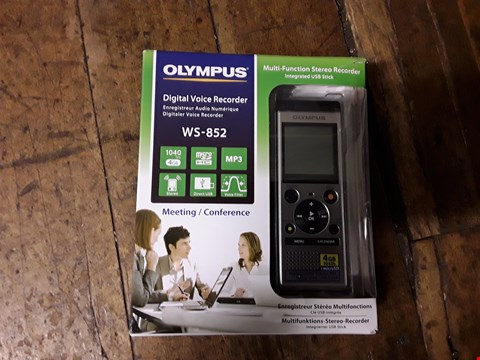 Lot 3012 OLYMPUS WS - 852 4GB DIGITAL VOICE RECORDER  RRP £89.99
