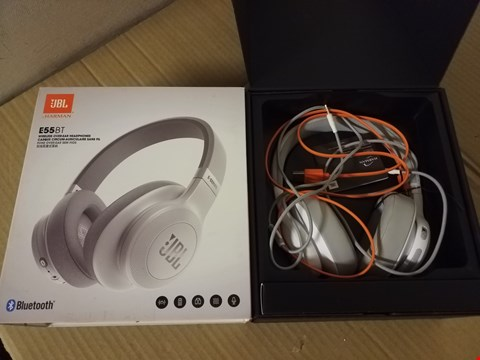 Lot 8025 JBL E55BT WIRELESS OVEREAT HEADPHONES