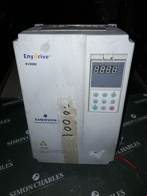 Lot 3061 EMERSON ENYDRIVE EV2000 EV2000-4T0110G/0150P INVERTER