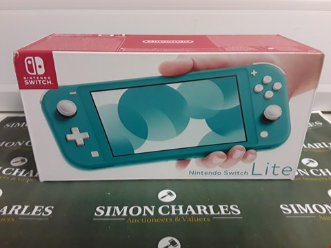 Lot 1210 NINTENDO SWITCH LITE TURQUOISE CONSOLE