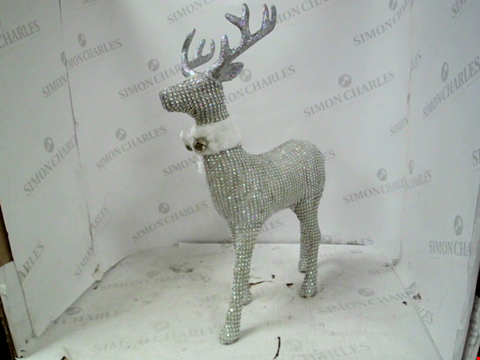 Lot 13130 DIAMANTE STAG DECORATION RRP £22.99