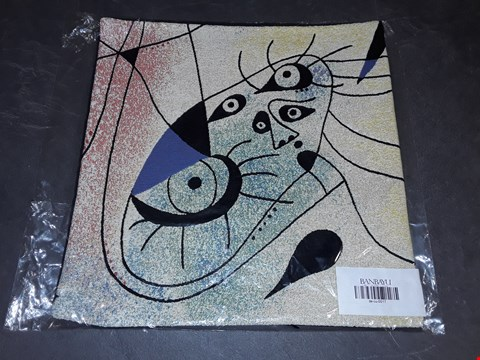 Lot 8159 BRAND NEW 45X45CM  SUCCESSIO JOANMIRO ABSTRACT CUSHION COVER