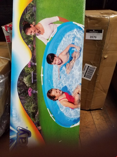 Lot 3577 BESTWAY MY FIRST FRAME POOL RRP £36.99