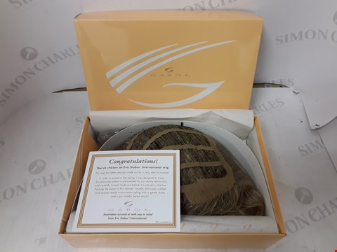Lot 214 BOXED GABOR LUXURY COLLECTION WIG