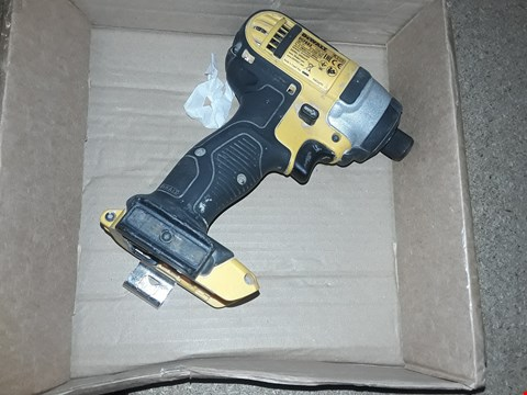 Lot 1653 DEWALT 18V XR LITHIUM-ION BODY ONLY IMPACT DRIVER