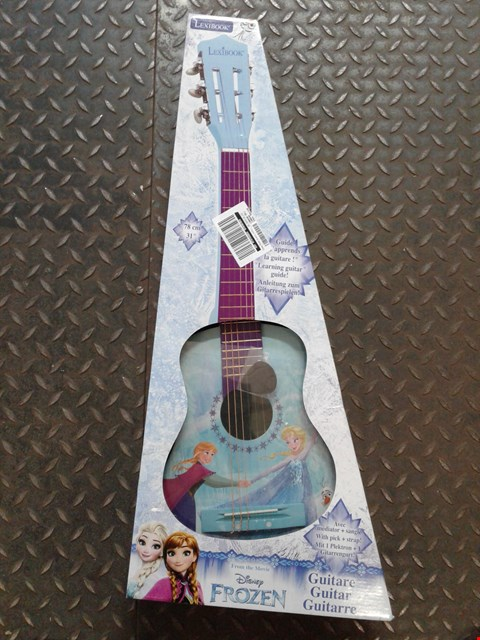 Lot 2350 DISNEY FROZEN ACOUSTIC GUITAR  RRP £50