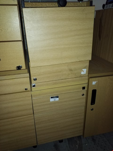 Lot 17065 LOT OF 2 ASSORTED OFFICE DRAWERS