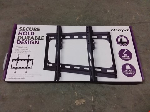 Lot 658 BOXED INTEMPO SECURE HOLD TV TILT MOUNT