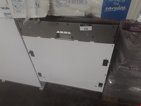 Lot 436 BEKO INTEGRATED FULL SIZE DISHWASHER  RRP £220