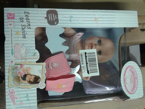 Lot 1795 BABY ANNABELL LEARNS TO SWIM DOLL RRP £47.99
