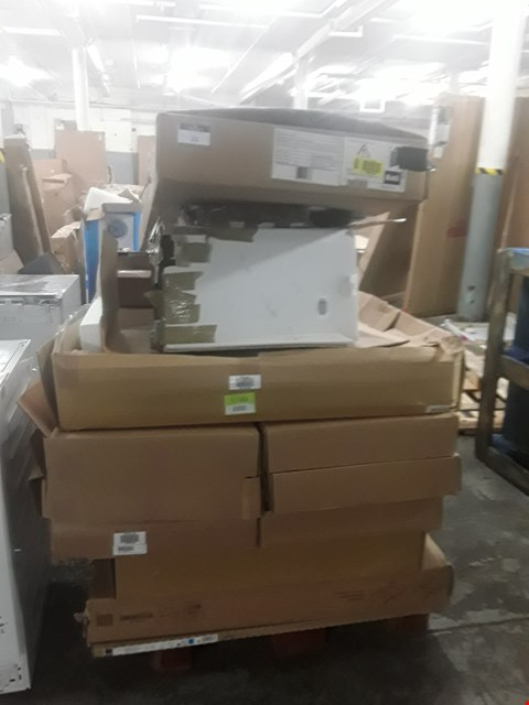 Lot 22 PALLET OF ASSORTED FLAT PACK KITCHEN UNITS  RRP £1249