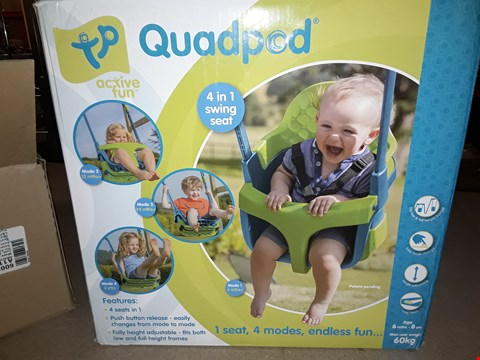 Lot 38 TP QUADPOD 4 IN 1 SWING SEAT RRP £50.00