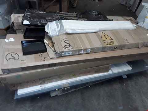 Lot 745 PALLET OF ASSORTED FLAT PACK FURNITURE PARTS