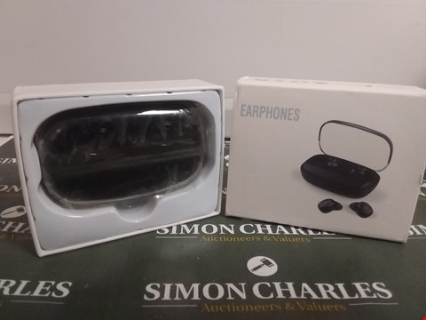 Lot 1093 DESIGNER BOXED WIRELESS EARBUDS