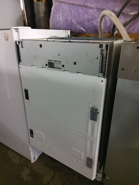 Lot 180 BEKO INTEGRATED SLIMLINE DISHWASHER