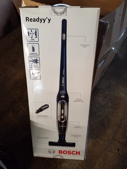 Lot 222 BOSCH READY'Y 20.4v CORDLESS 2 IN 1 VACUUM CLEANER