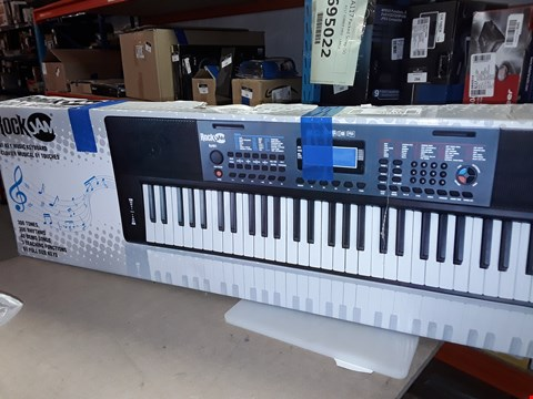 Lot 274 ROCK JAM 61 KEY MUSIC KEYBOARD