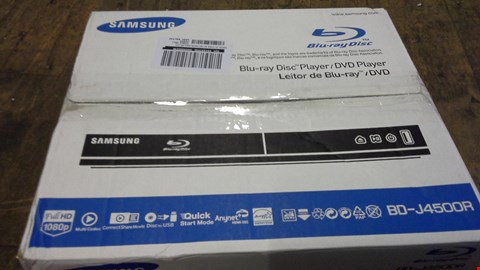 Lot 378 BOXED SAMSUNG BD-J45OOR BLU-RAY DISC PLAYER  RRP £60.00