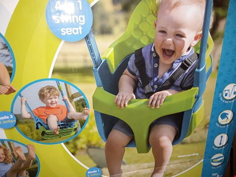 Lot 135 TP QUADPOD 4 IN 1 BABY SWING SET RRP £49.99