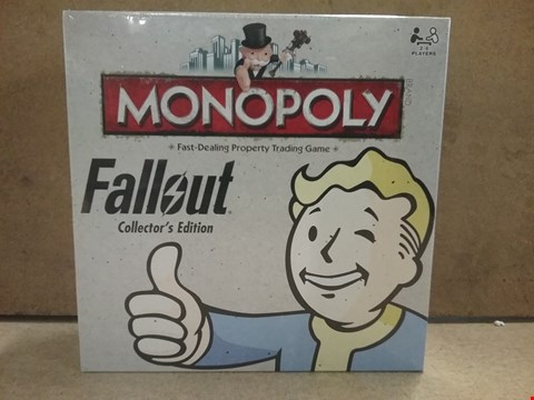 Lot 2198 BRAND NEW BOXED FALLOUT COLLECTORS EDITION MONOPOLY TRADING GAME
