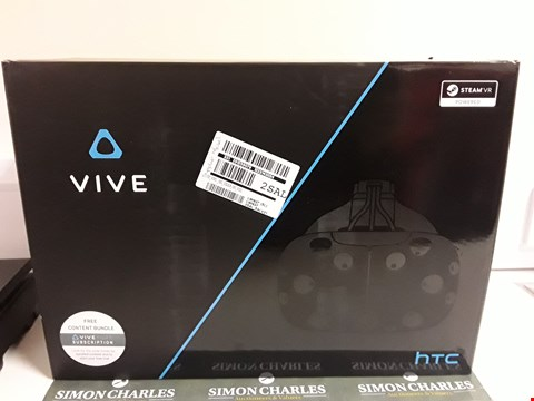 Lot 1264 HTC VIVE VIRTUAL REALITY RRP £799.00