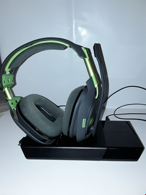 Lot 4262 ASTRO GAMING A50 WIRELESS DOLBY GAMING HEADSET - BLACK/GREEN