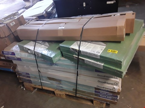Lot 3141 PALLET OF ASSORTED LAMINATE FLOORING AND UNDERLAY
