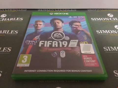 Lot 1065 FIFA 19 FOR XBOX ONE