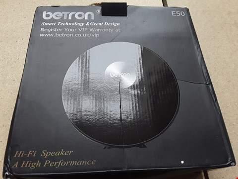 Lot 22 BOXED BETRON HIGH PERFORMANCE HI-FI SPEAKER