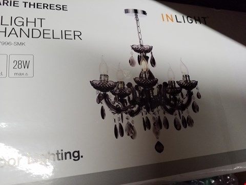 Lot 3153 BOXED BRAND NEW MARIE TERESE CHANDELIER  RRP £64.99