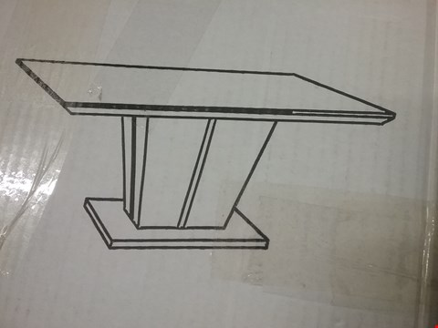 Lot 90 BOXED MOZART DINING TABLE ( 3 BOXES )