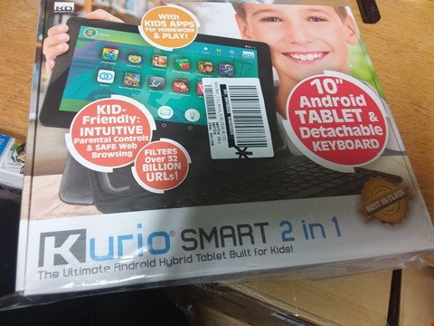 Lot 3 KURIO SMART 2 IN 1 ANDROID TABLET FOR KIDS  RRP £234.00