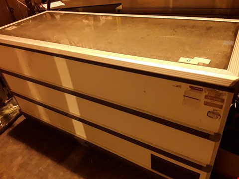 Lot 3058 LARGE DISPLAY CHEST FREEZER