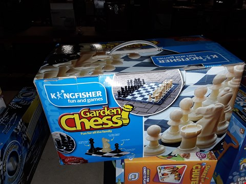 Lot 14 GARDEN CHESS A D OUT OF THE BLUE AMAZING ROLLER COASTER