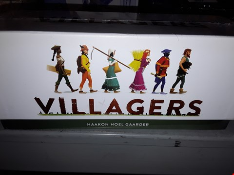 Lot 655 VILLAGERS CARD GAME  , HAVE FUN