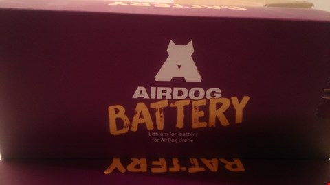 Lot 48 BOXED AIRDOG BATTERY FOR AIR DOG DRONE